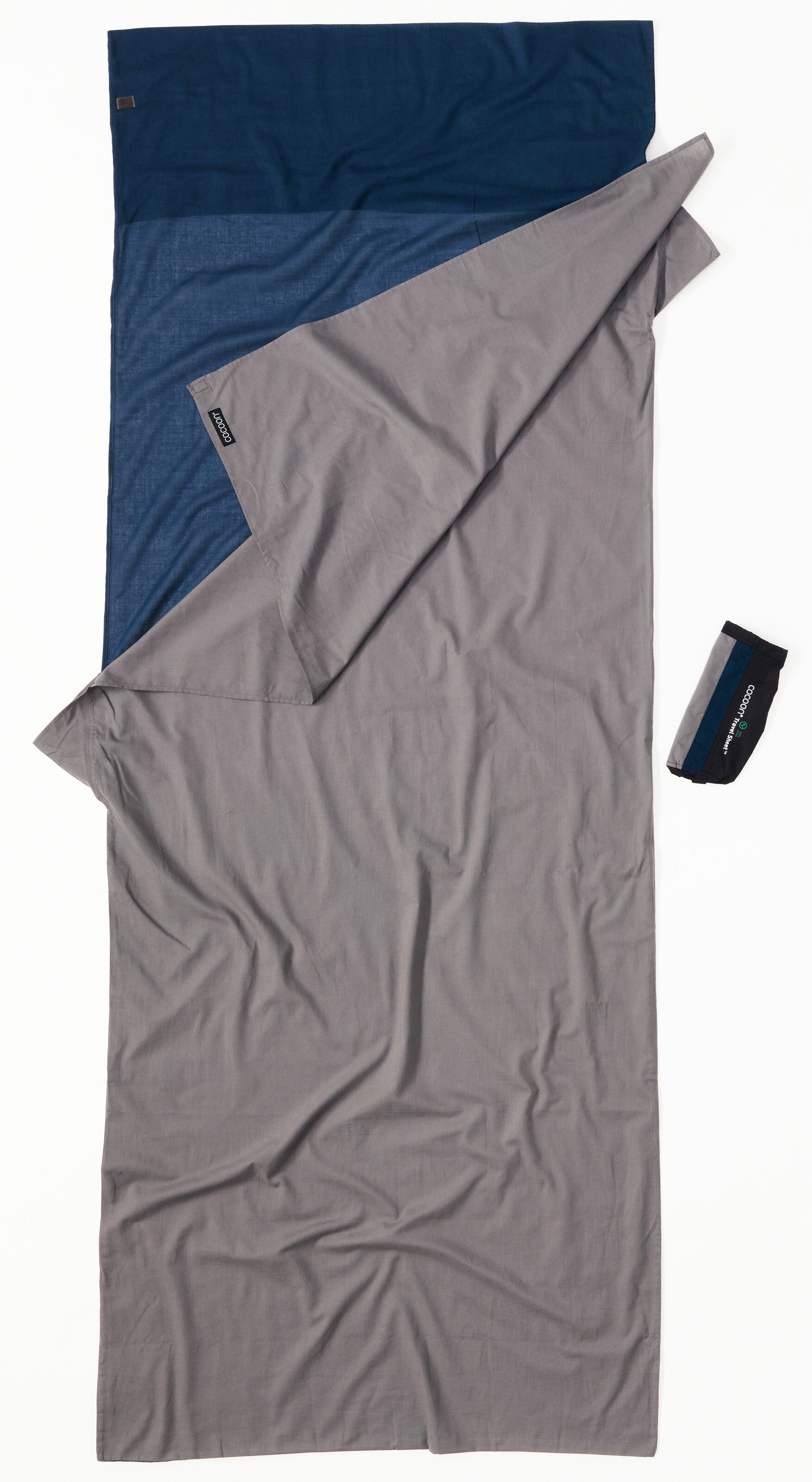 Cocoon Travelsheet Sac De Couchage Cotton Gris